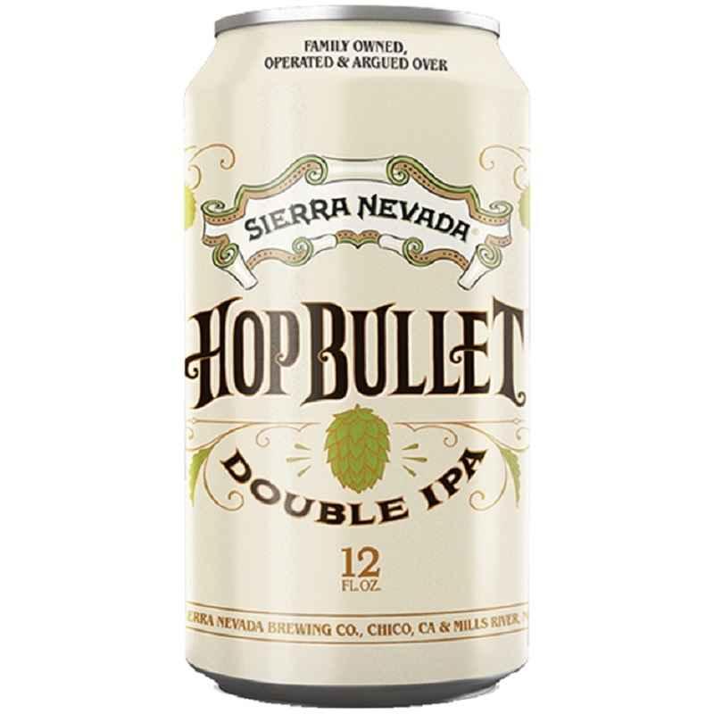 Cerveja Sierra Nevada Hop Bullet Double Ipa lata 355 ml
