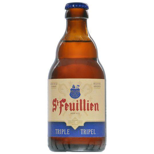 Cerveja St Feuillien Tripel 330 ml
