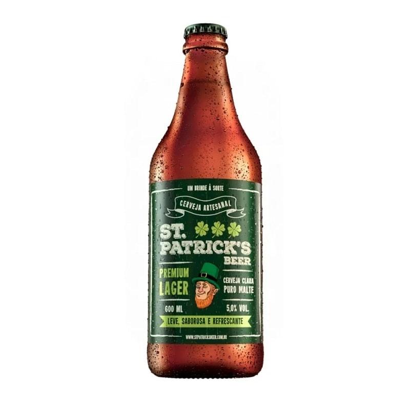 Cerveja St Patrick's Premium Lager 600 ml