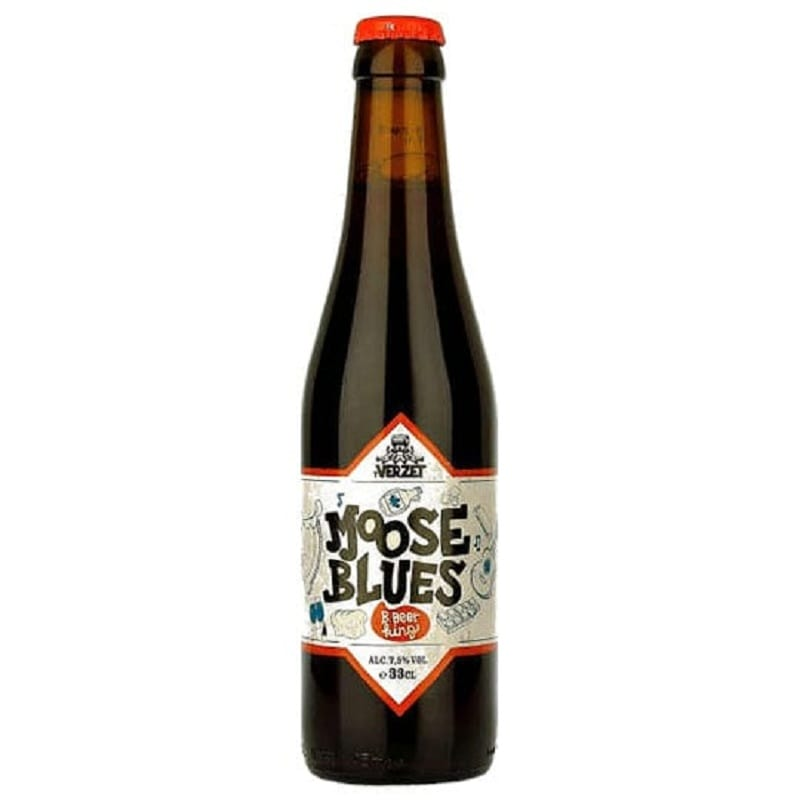 Cerveja T Verzet Moose Blues Belgian Dark Ale 330 ml