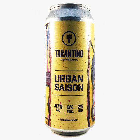 Cerveja Tarantino Urban Saison Lata 473 ml