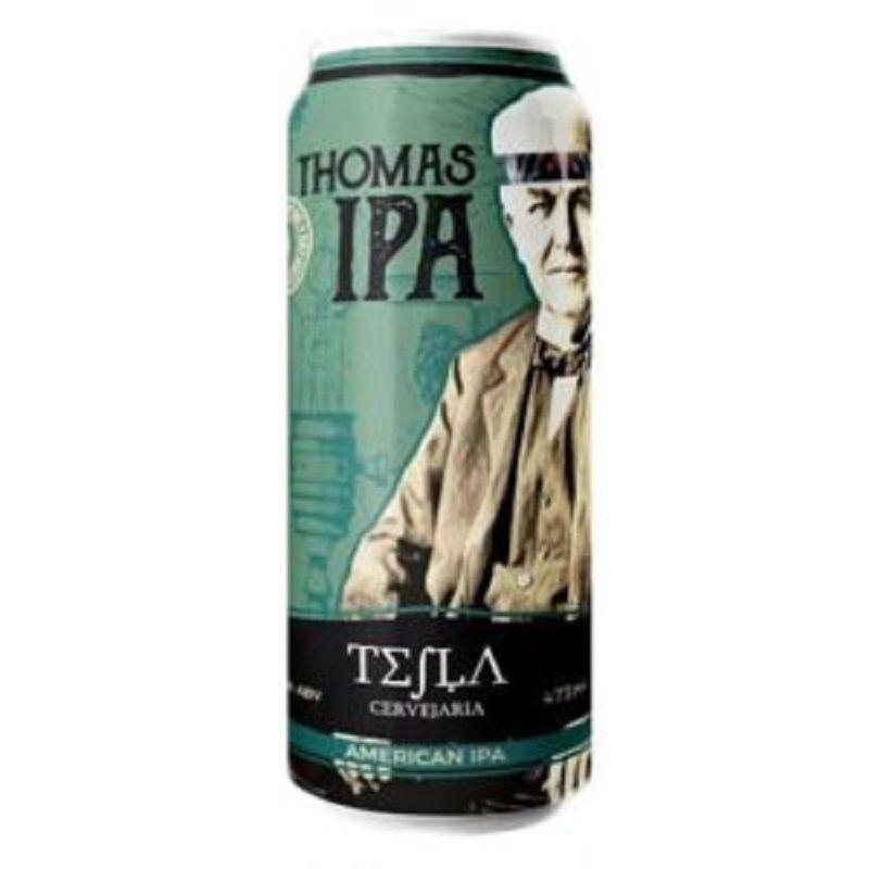 Cerveja Tesla Thomas Ipa Lata 473 ml