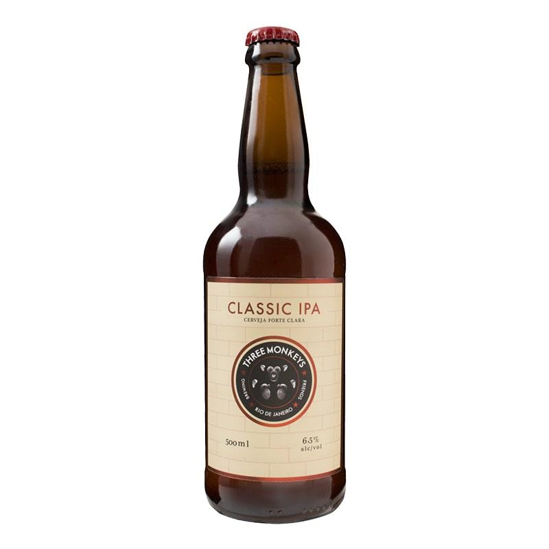 Cerveja Three Monkeys Classic Ipa 500 ml