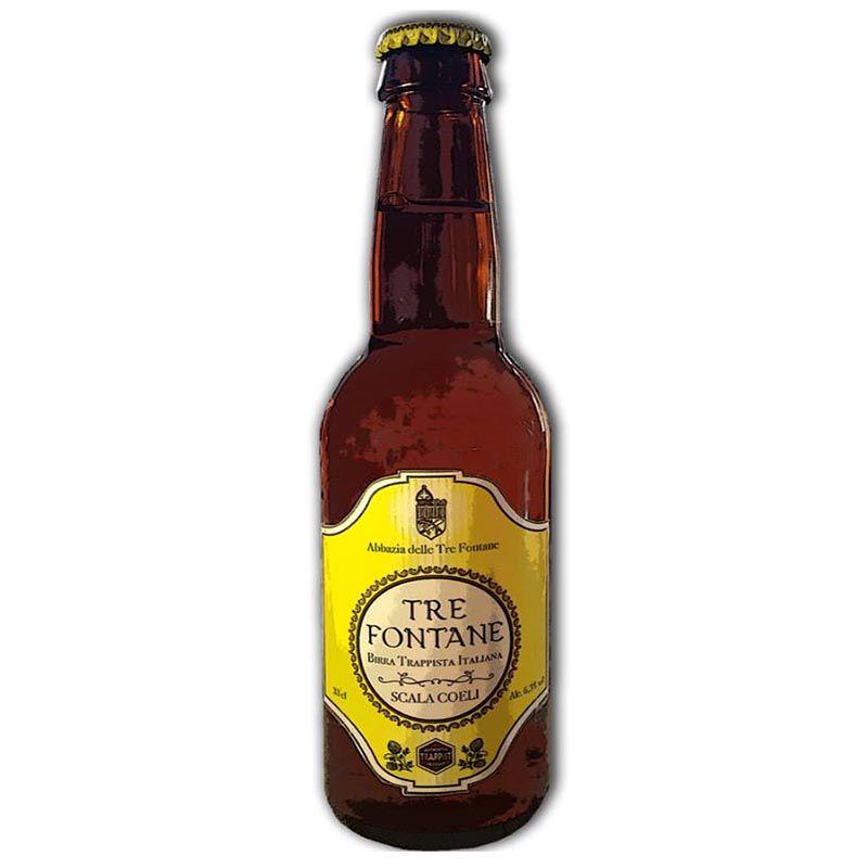 Cerveja Trapista Tre Fontane Scala Coeli 750 ml