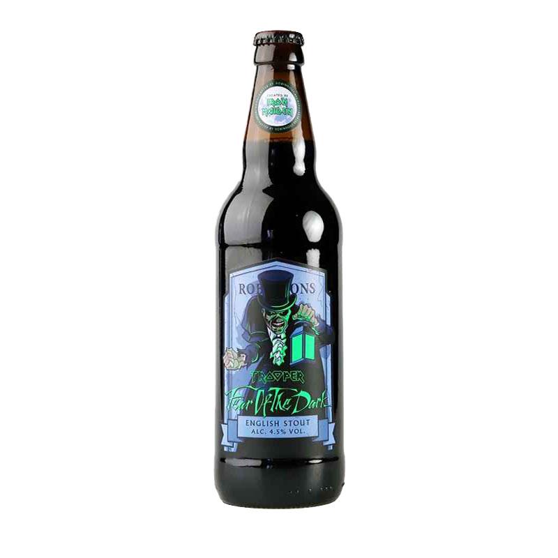 Cerveja Trooper Iron Maiden Fear of the Dark 500 ml