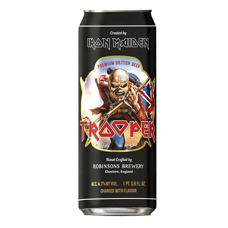 Cerveja Trooper Iron Maiden Lata 500 ml