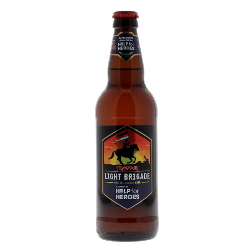 Cerveja Trooper Light Brigade 500 ml
