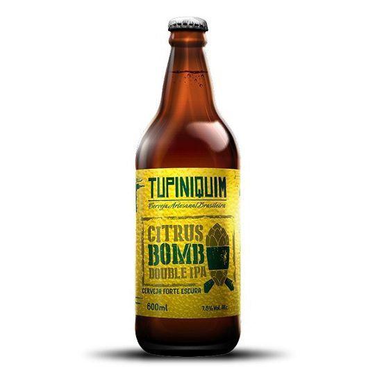 Cerveja Tupiniquim Citrus Bomb Double Ipa 600 ml