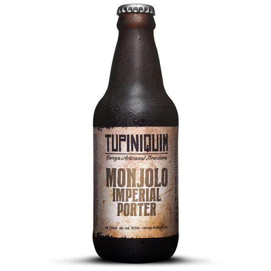 Cerveja Tupiniquim Monjolo Imperial Porter 310 ml