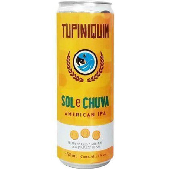 Cerveja Tupiniquim Sol e Chuva Lata 350 ml