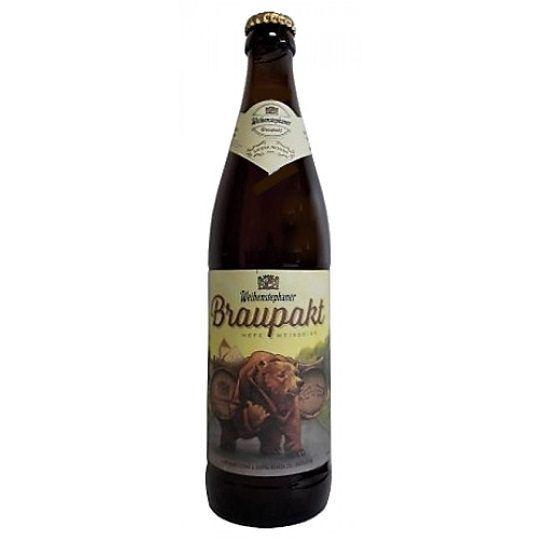 Cerveja Weihenstephaner e Sierra Nevada Braupakt 500 ml