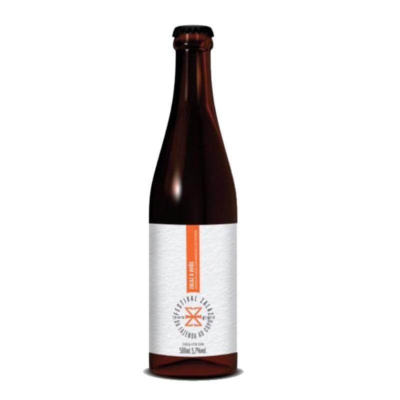 Cerveja Zalaz e Avós American Lager 500 ml