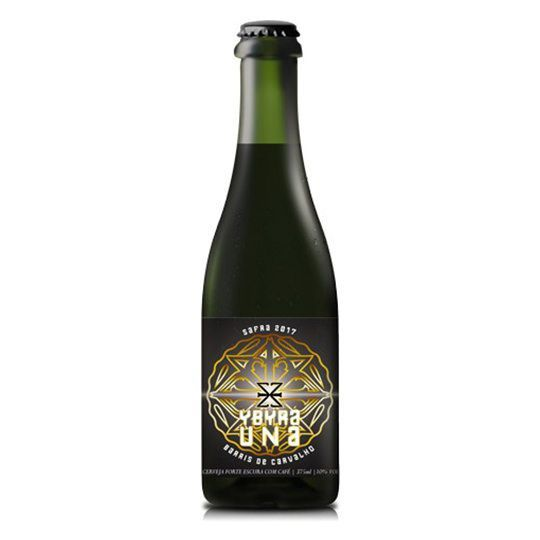 Cerveja Zalaz Ybyra Una Porter com Café 375 ml