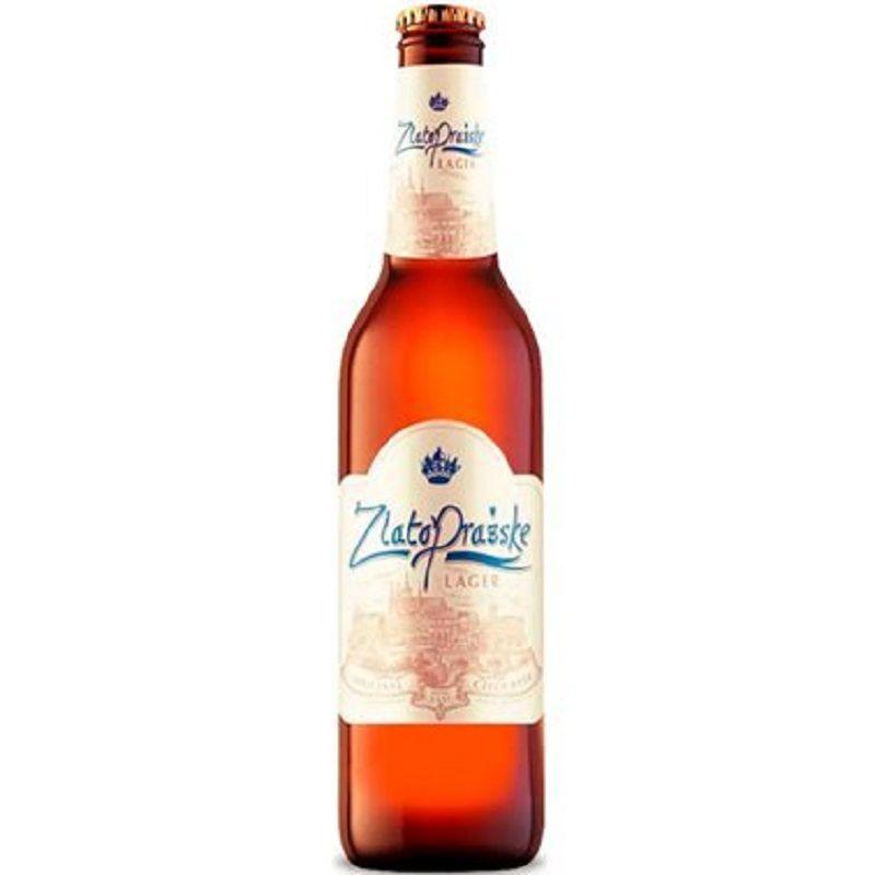 Cerveja ZlatoPrazske Lager 500 ml