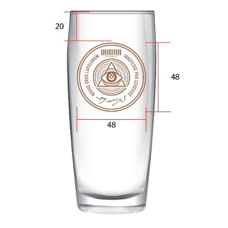 Copo Pint Dogma Willy 310 ml