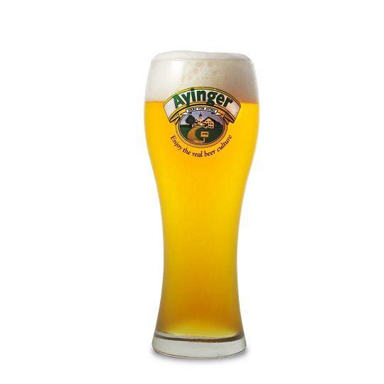 Kit Ayinger contendo 4 Cervejas com Copo Weizen Gratuito