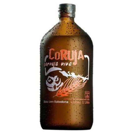 Kit Coruja Viva contendo 6 Cervejas de 1 Litro