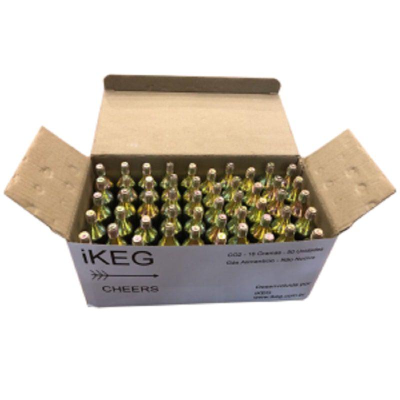 Kit de Cápsulas de Co2 para Ikeg 50 unidades