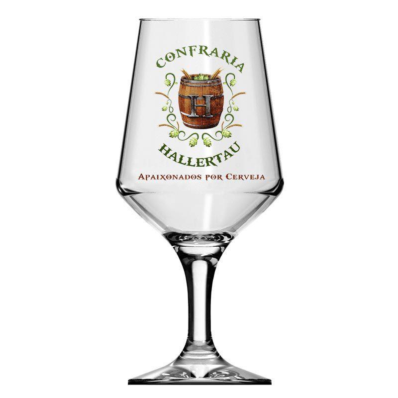 Kit de Cerveja Lupulus Brune com Taça Hallertau 400 ml