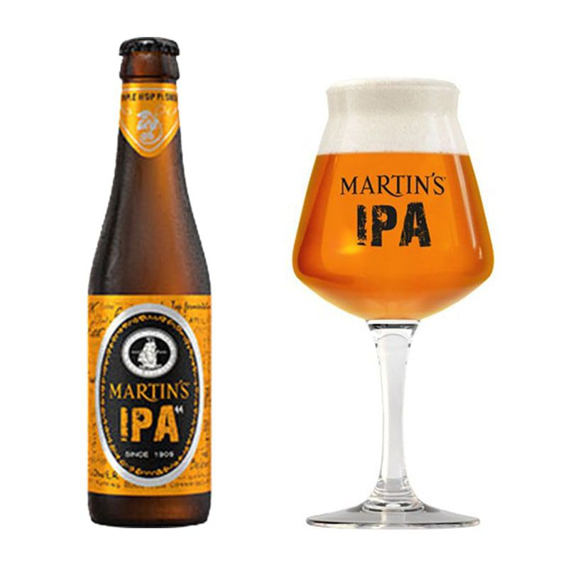 Kit de Cerveja Martin's Ipa com Taça