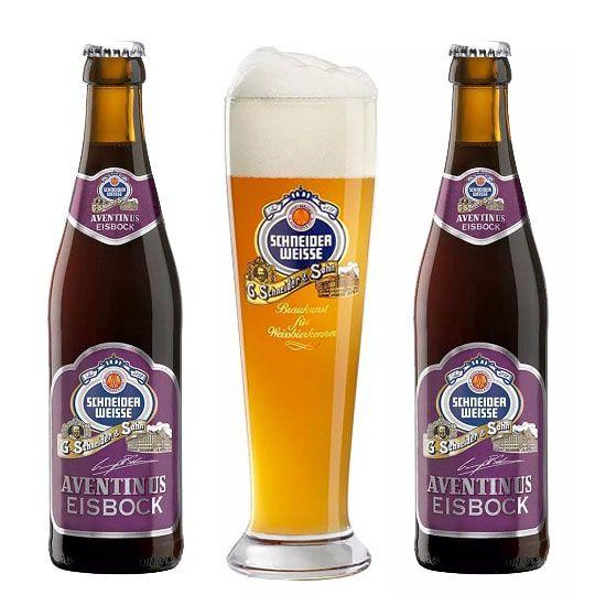 Kit de Cerveja Schneider Eisbock com Copo Weizen 500 ml