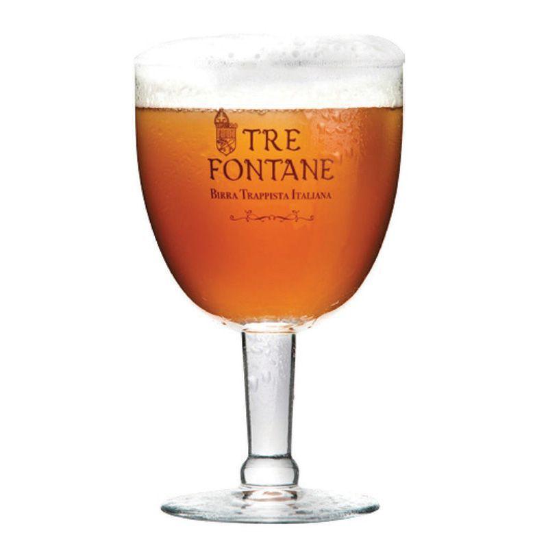 Kit de Cerveja Tre Fontane 750 ml com Taça