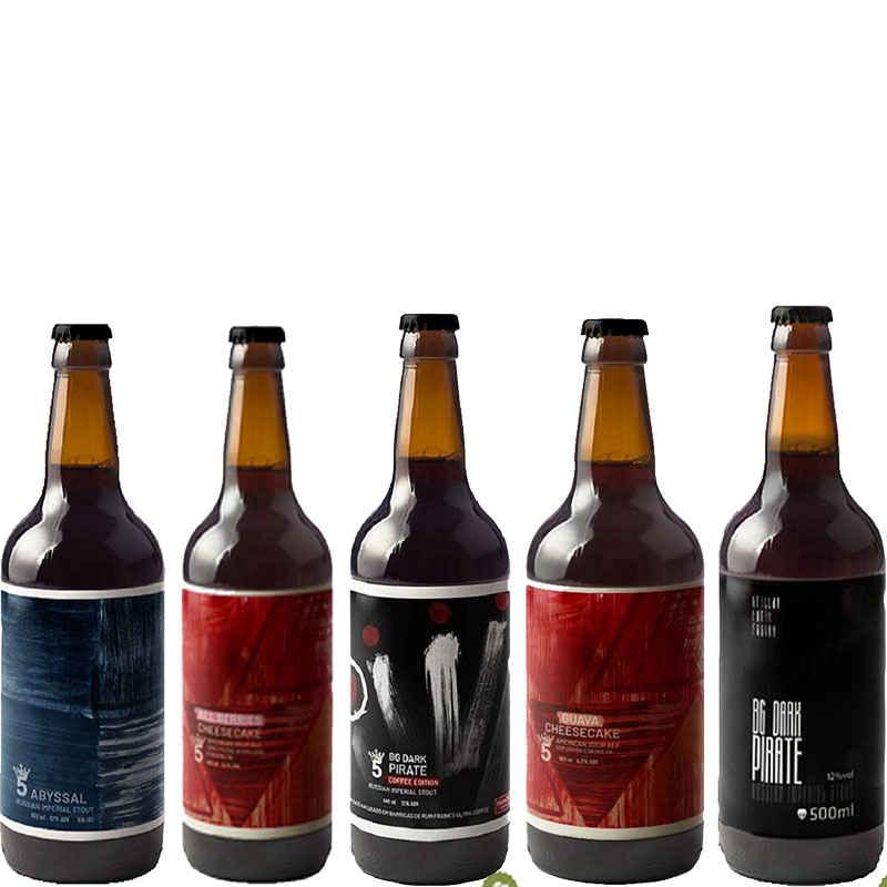 Kit de Cervejas 5 Elementos