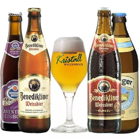 Kit de Cervejas Alemanha com Taça Weihenstephaner
