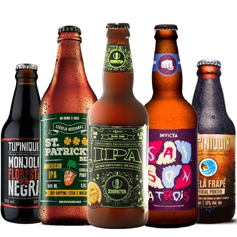 Kit de Cervejas Apaixonados por Cerveja de Agosto