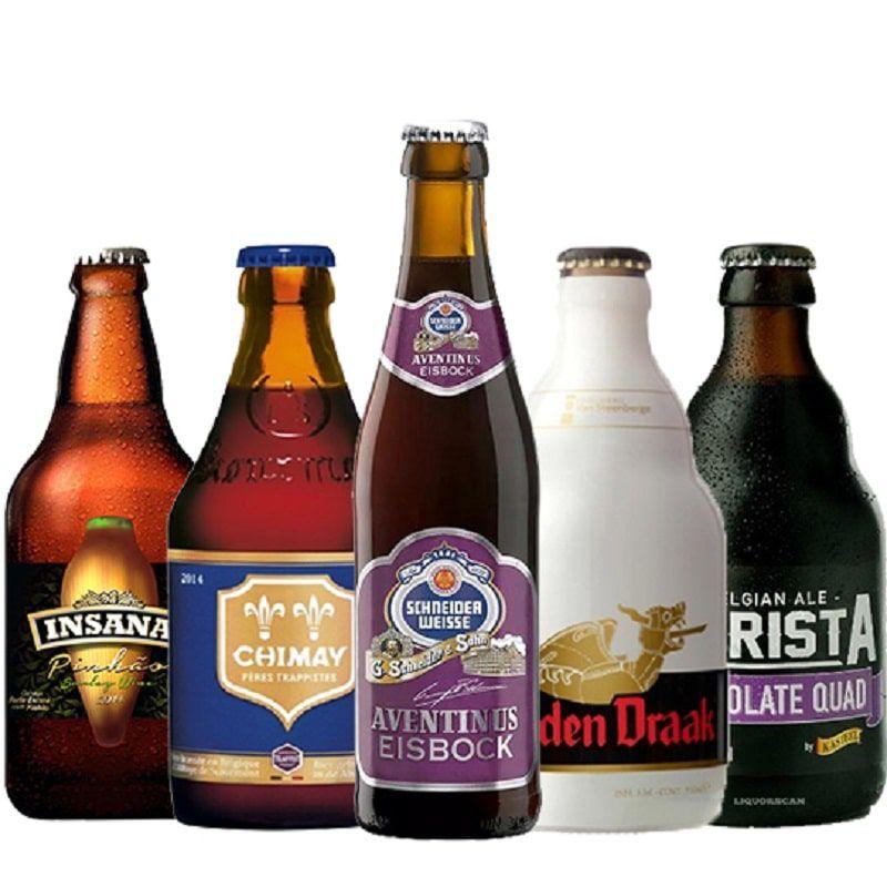 Kit de Cervejas Apaixonados por Cerveja de Fevereiro