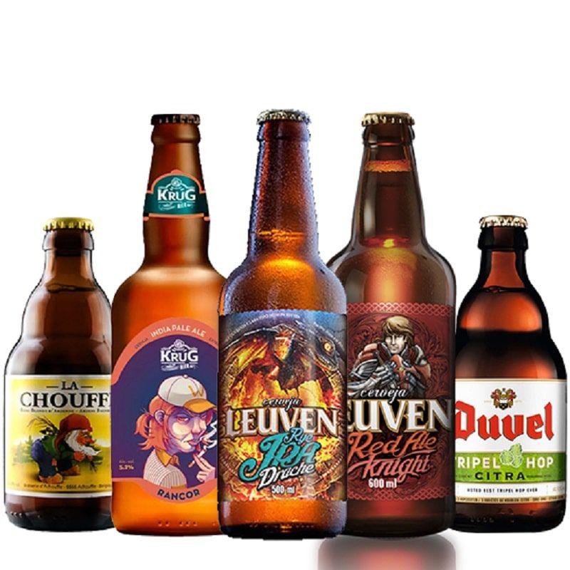 Kit de Cervejas Apaixonados por Cerveja de Julho