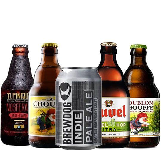 Kit de Cervejas Apaixonados por Cerveja de Outubro
