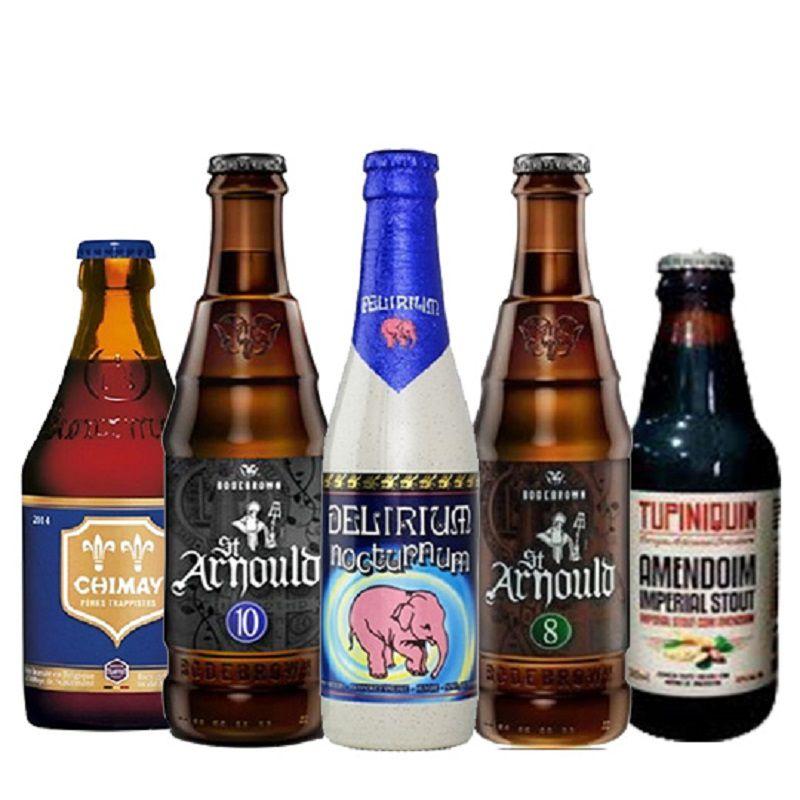 Kit de Cervejas Apaixonados por Cerveja de Setembro