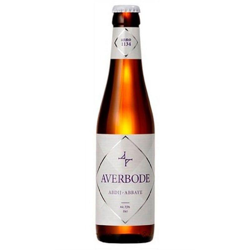 Kit de Cervejas Averbode e Chimay Blue com Taça