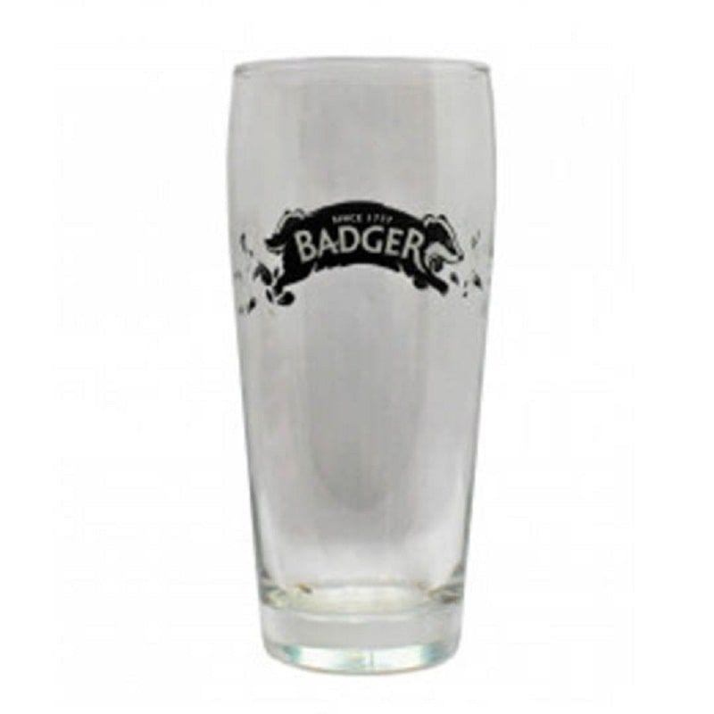 Kit de Cervejas Badger contendo 2 Rótulos com Copo