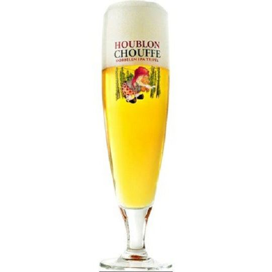 Kit de Cervejas Belgas com Taça Houblon Chouffe Gratuita