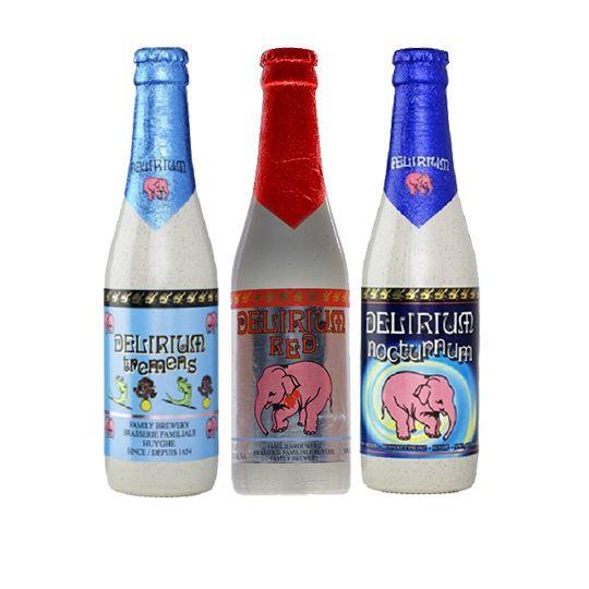 Kit de Cervejas Belgas Delirium