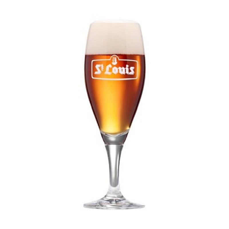 Kit de Cervejas Belgas Mistas com Taça St Louis