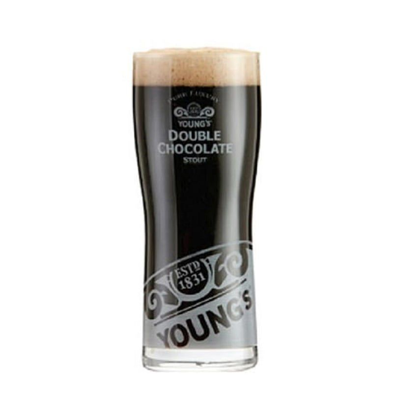 Kit de Cervejas Belhaven Stout e Courage com Copo Youngs