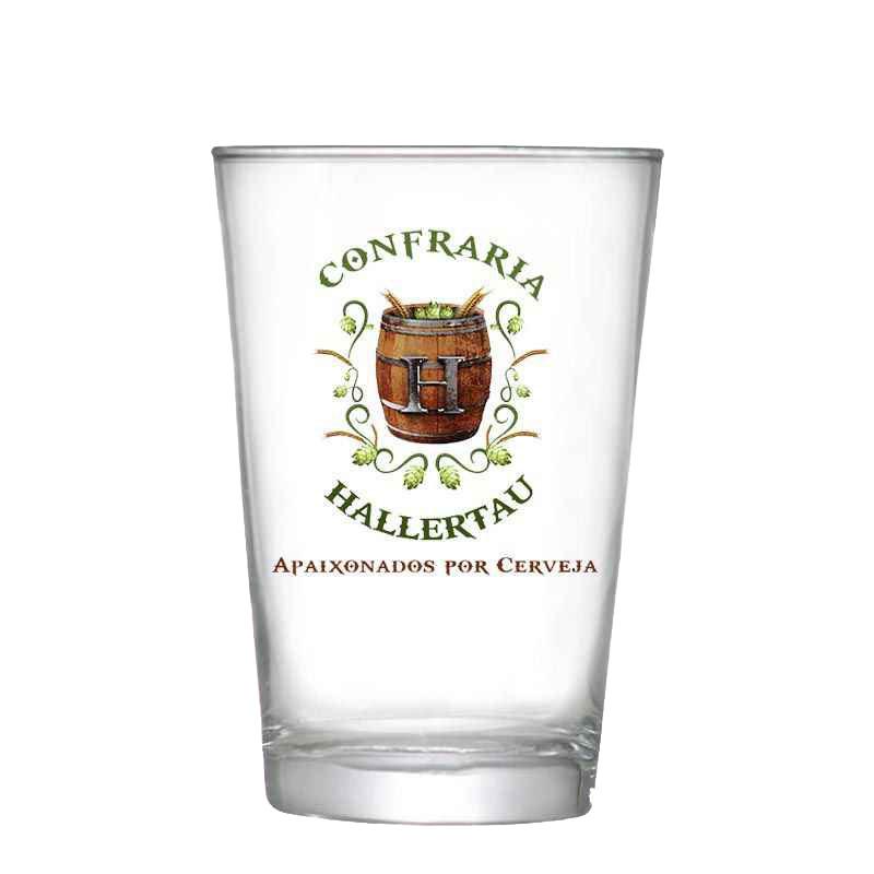 Kit de Cervejas Blumenau com Copo Caldereta Confraria Hallertau de 350 ml