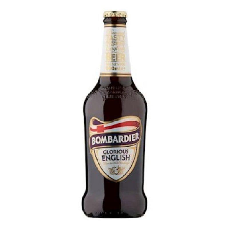 Kit de Cervejas Bombardier e Chocolate Stout com Tapete