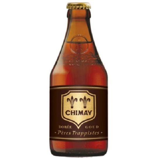 Kit de Cervejas Chimay 3 Rótulos com Taça Hallertau