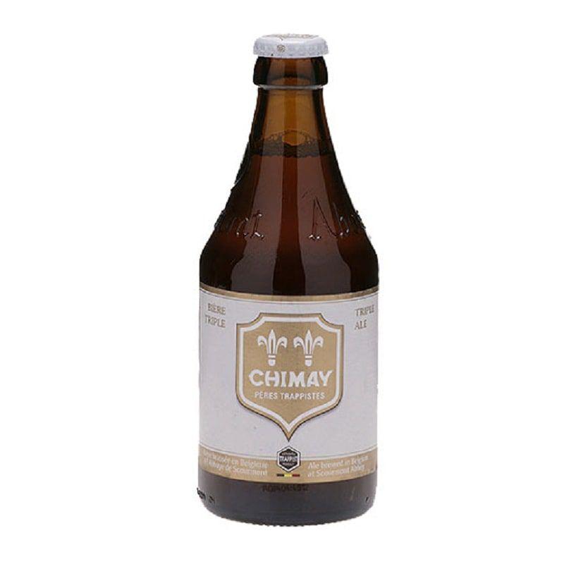 Kit de Cervejas Chimay contendo 3 Rotulos com Taça