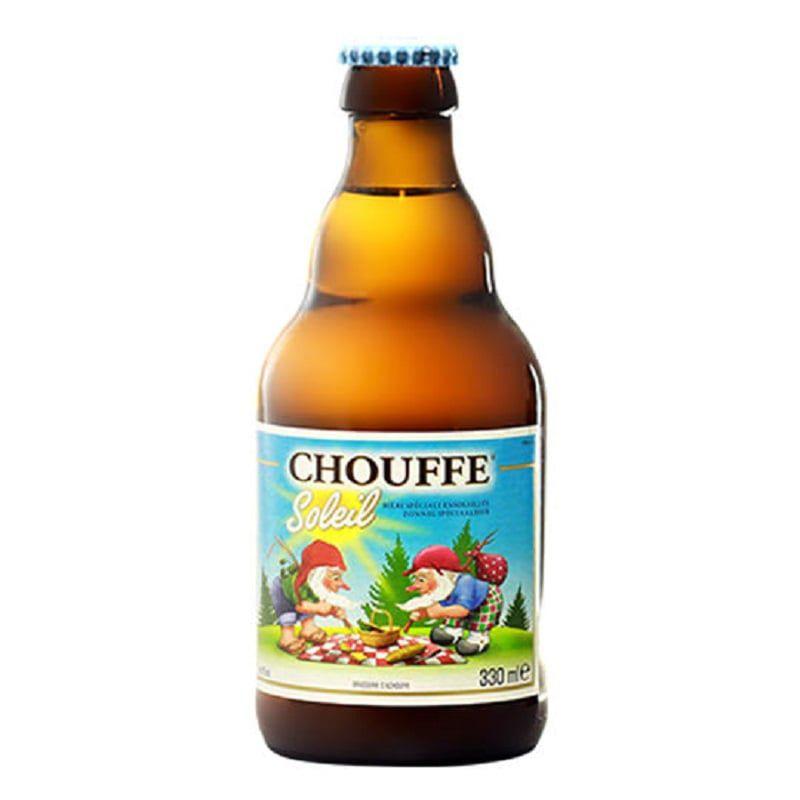 Kit de Cervejas Chouffe Soleil com Taça Gratuita