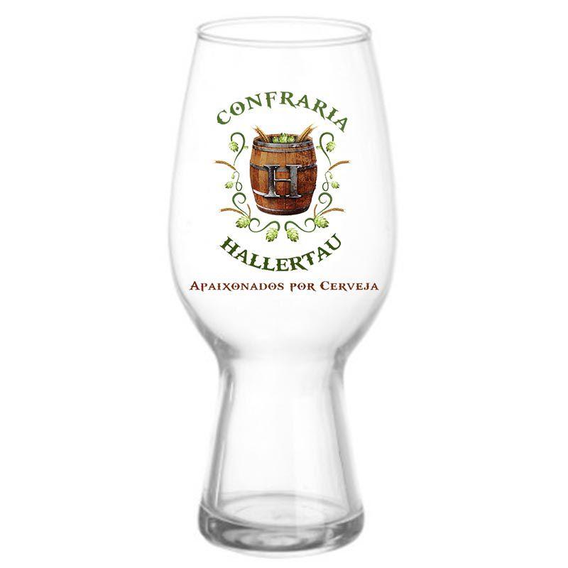 Kit de Cervejas Croma Numbers e Shapes com Copo Ipa Hallertau 440 ml