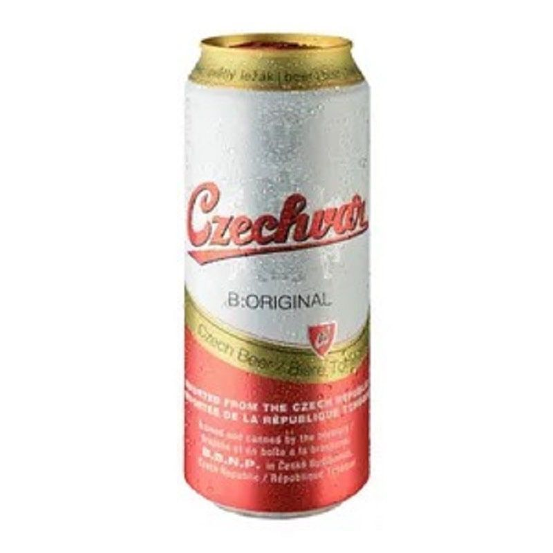 Kit de Cervejas Czechvar com Copo Hallertau de 350 ml
