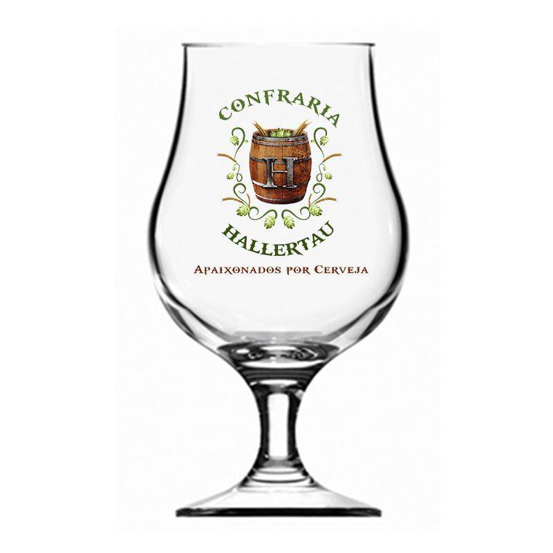 Kit de Cervejas do Estilo Belgian Strong Dark Ale com Taça 400 ml