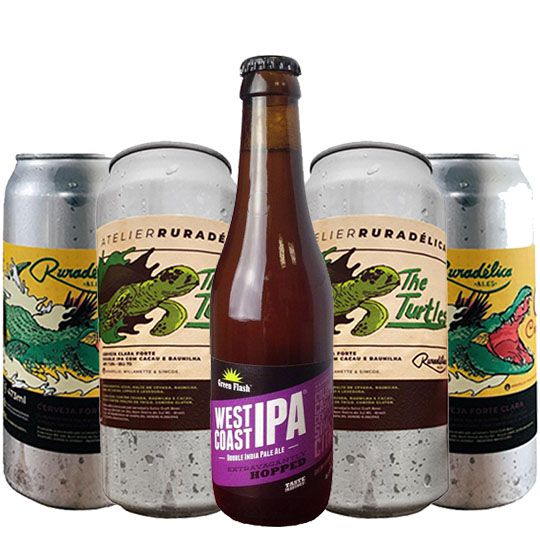 Kit de Cervejas do Estilo Imperial Ipa