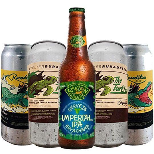 Kit de Cervejas do Estilo Imperial Ipa