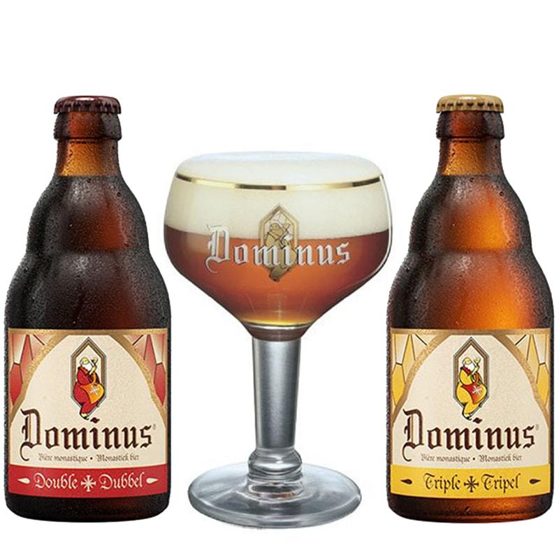 Kit de Cervejas Dominus com Taça 250 ml